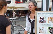 Infostand auf dem 4. Kölner Tierschutzfest