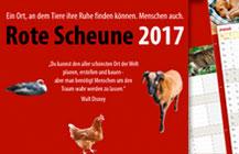 Der neue Kalender der »Roten Scheune« ist da